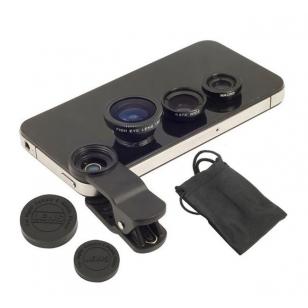 Smartphone statief, lenzenset en afstandsbediening