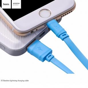 Hoco Bamboo platte micro USB kabel 1 meter