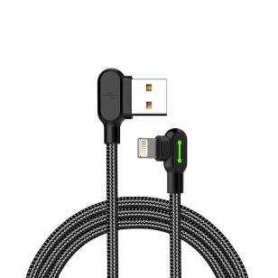 Mcdodo nylon haakse Lightning kabel 1,8 meter