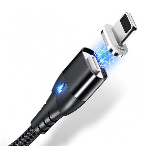 Getihu Lightning kabel 1 meter met magnetische aansluiting