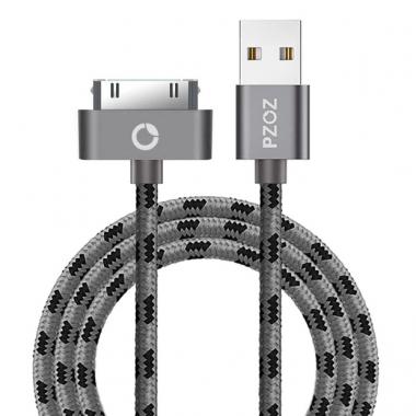PZOZ iPad kabel 30-pins 2 meter nylon