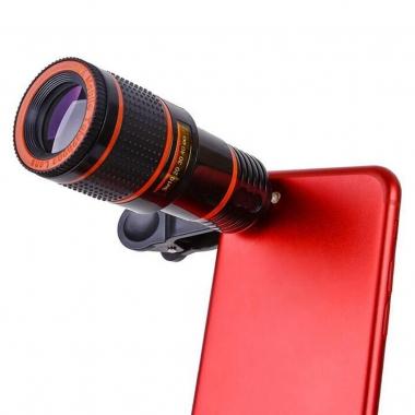 Smartphone telescooplens 8x zoom