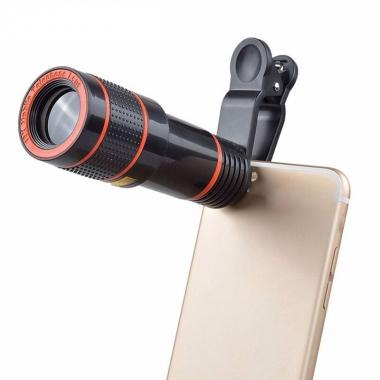 Smartphone telescooplens 12x zoom