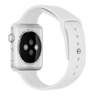 Sport bandje voor Apple Watch 38mm/40mm wit