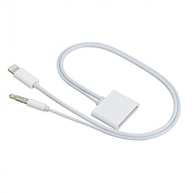 30-pins naar Lightning adapter met audio
